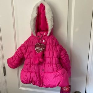 Hawke & Co. Winter Coat Set Size 3T NWT & Gloves